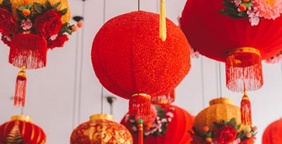 Red Lanterns to Cherry Blossoms, what are the meanings behind CNY decorations