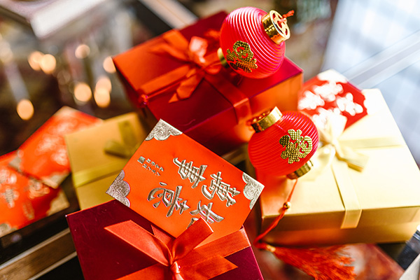 Gifts on Chinese New Year